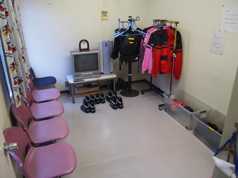 12二輪女性専用更衣室