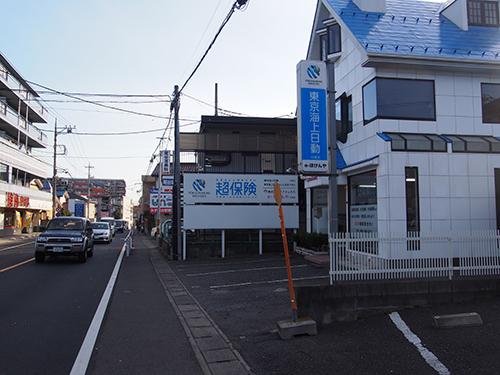 鶴瀬駅入口