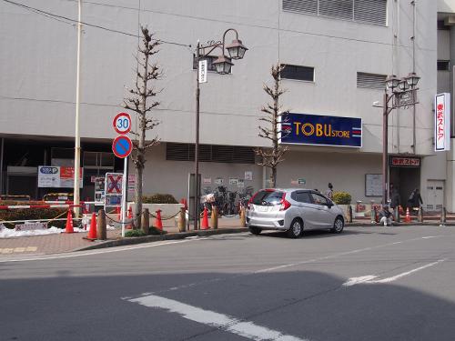 川越駅東口東武マイン