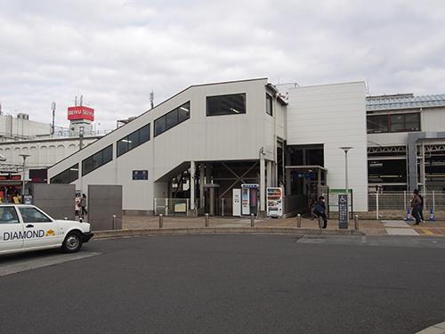 上福岡駅西口