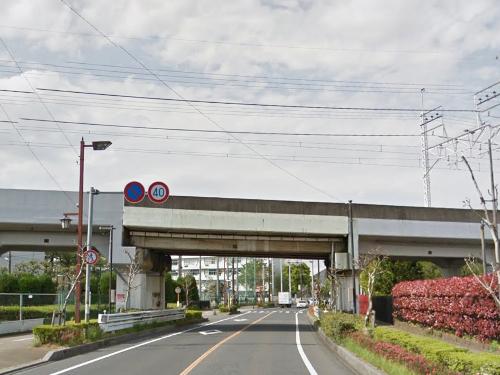 武蔵野線ガード手前